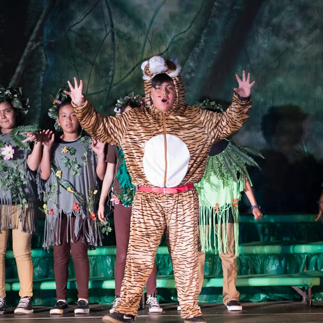 Students deliver a stunning performance of Disney's Jungle Book!