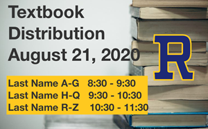 Textbook Distribution - August 21, 2020 - article thumnail image